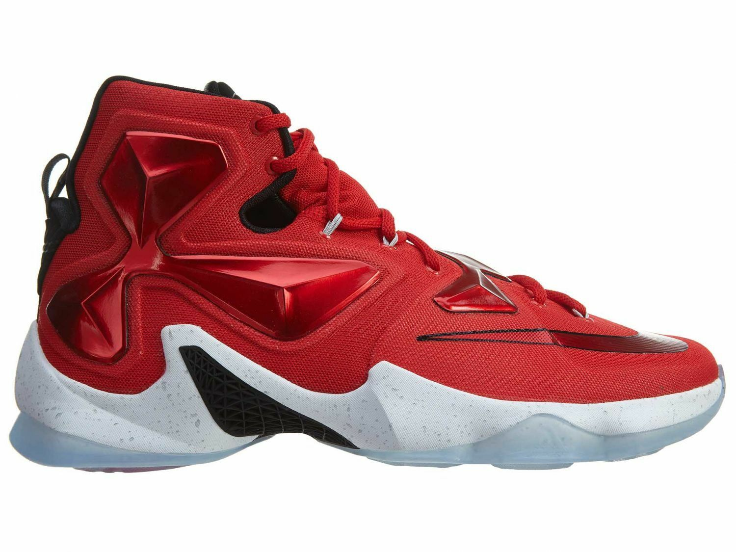 9e4911b5c90 ... cheapest nike lebron xiii red 13 mens 807219 610 university red xiii  basketball shoes size 8.5