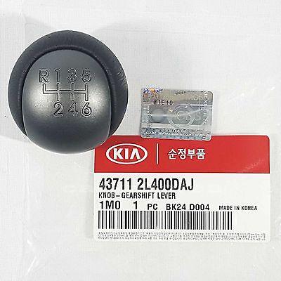 Genuine 437112L400DAJ Gear Shift Knob 6 Speed Manual KIA CERATO KOUP 2009-2012