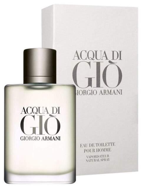 Giorgio Armani Acqua Di Gio pour homme 3.4oz Men's Eau De Toilette