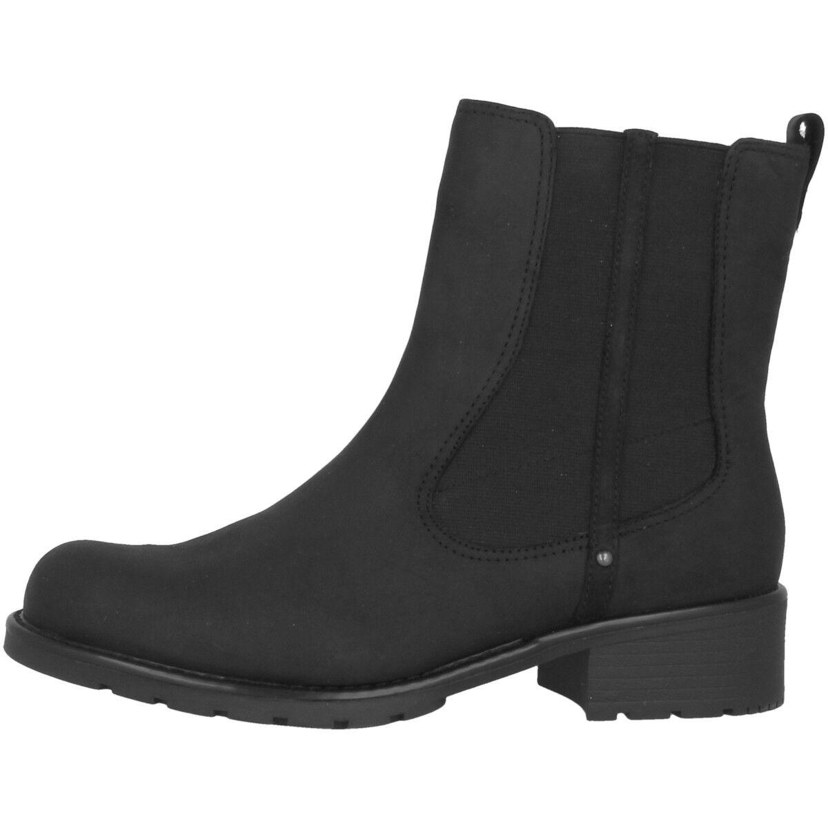 Clarks Orinoco Club Zapatos Mujer Piel siefel women Botas Black Pearl 20340918