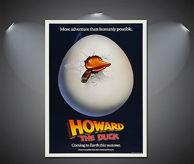 Howard The Duck Vintage Movie Poster - A1, A2, A3, A4 available