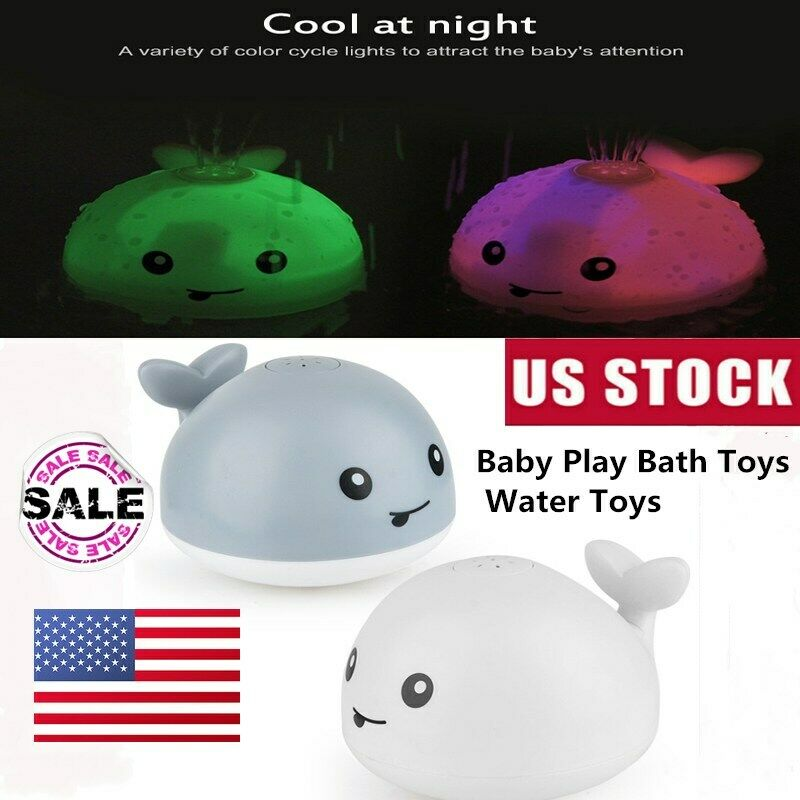 Infant Children Electric Induction Sprinkler Toy Baby Play Bath Ball Water Toys√