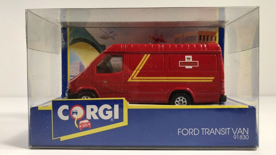 Modelbil, Corgi Ford Transit Van, skala 1/43