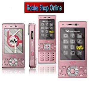 Sony-Ericsson-W995-Pink-Walkman-Ohne-Simlock-WLAN-3G-GPS-8-1MP-RADIO-wie-NEU