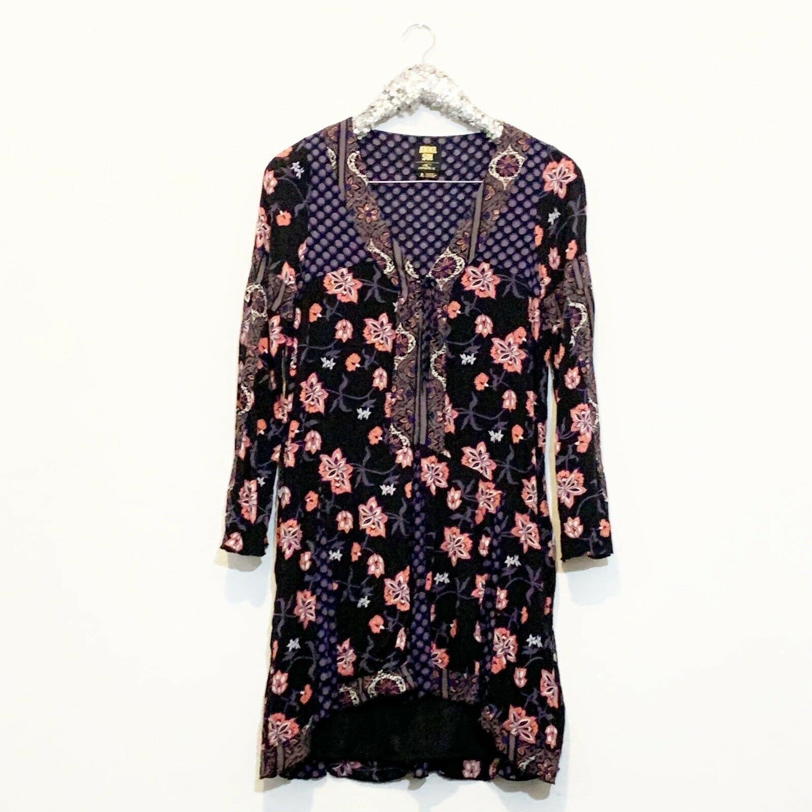 ANNA SUI X O'NEILL Dotti Boho Floral Print Mini S… - image 8