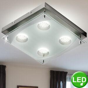 LED Chrom Decken Lampe Spot Leuchte Wohn Schlaf Ess Zimmer Beleuchtung Diele