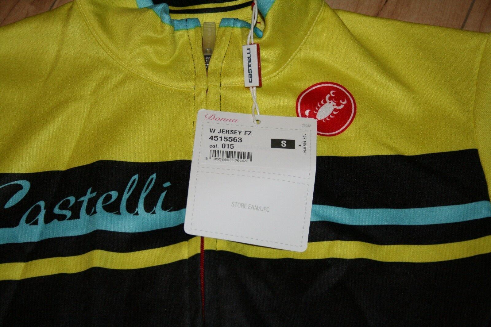 Castelli Girone Jersey FZ - Women's S Small
