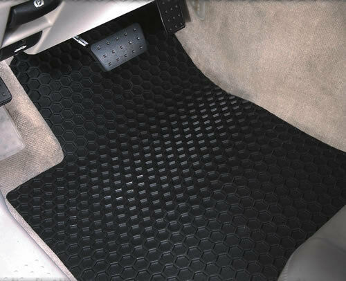 Intro-Tech Hexomat Car Floor Mats Carpet Front Rear For KIA 06-11 Rio