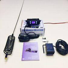 Team CB Funkgerät Mini Com Starter Set + Stachel Antenne & Halter Halterung Kit