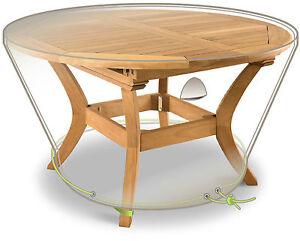 Details Sur Housse De Protection Elegance Pour Table Ronde 6 Personnes
