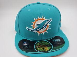 Miami Dolphins New Era Retro Jordan 8 Aqua NFL On Field 59Fifty ... b0ae32f0d