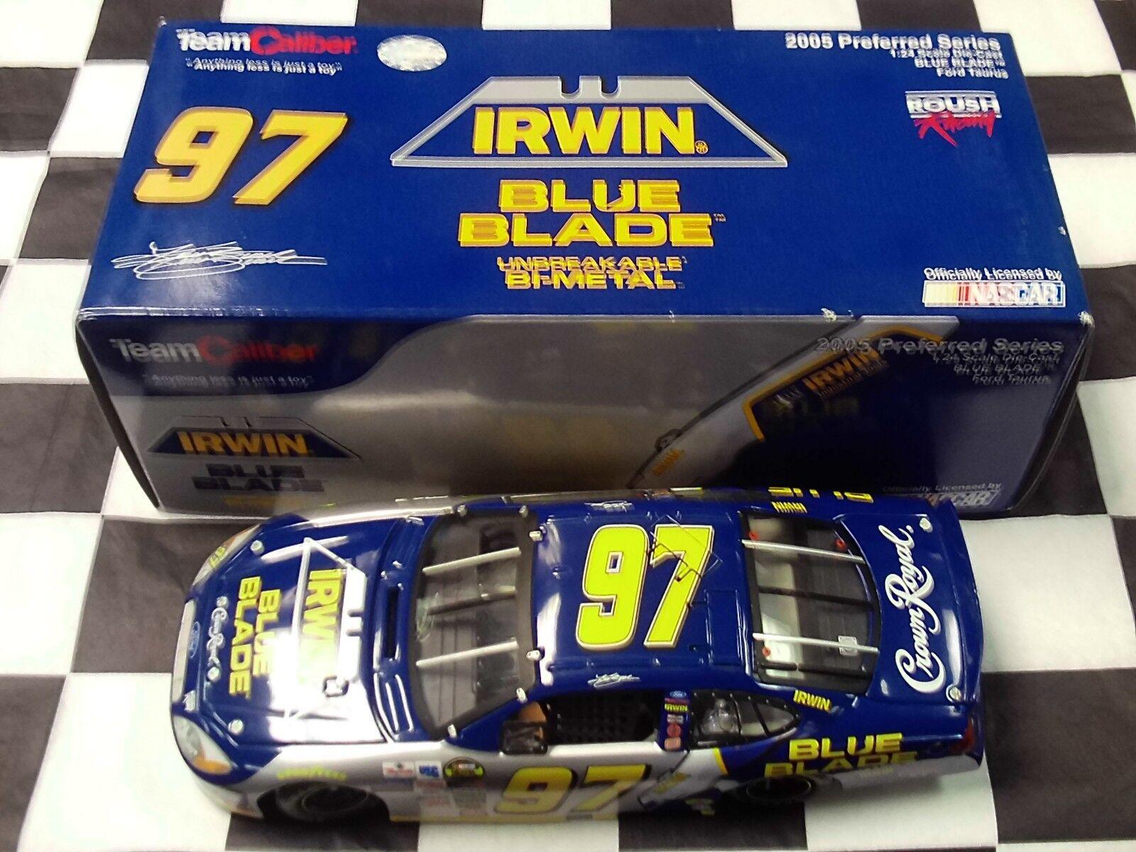 Kurt  Busch  97 Irwin bleu Blade 2005 Team Caliber Preferrouge Series 1 24 NIB  marques de créateurs bon marché