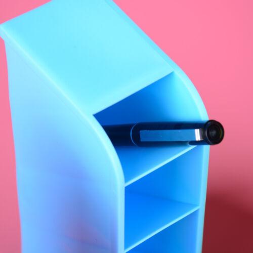 Plastic Desk Organizer Desktop Office Pen Pencil Holder Makeup Storage Tray ODUS