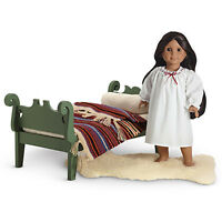 American Girl JOSEFINA DUO BED BEDDING & NIGHT SHIFT SET Pajama Bedtime NEW