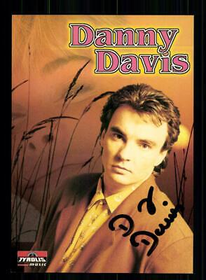 National Symbol Der Marke Danny Davis Autogrammkarte Original Signiert ## Bc 141572 Musik