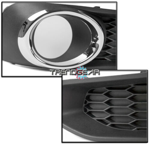 2013-2014 SUBARU LEGACY FRONT BUMPER FOG LIGHTS LAMP CHROME W//8K XENON HID+BEZEL