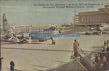 ARGENTINA CLIPPER DE PAN AMERICAN Y UN AVION DC6 DE PANAGRA EN PISTARINI EZEIZA