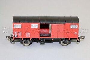 Y281-Fleischmann-train-Ho-1470-wagon-marchandise-ferme-Europ-DB-251612-GMHS-53