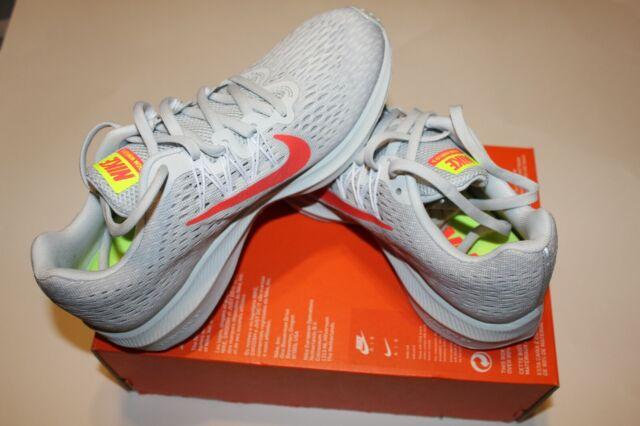 Nike Women Zoom Winflo 5 Running Shoes Pure Platinum Gray ...