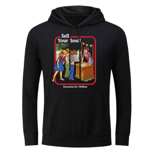 Sell Your Soul Men Hoodie Sweatshirts Sweater Jacket Coat Hooded Pullover Unisex