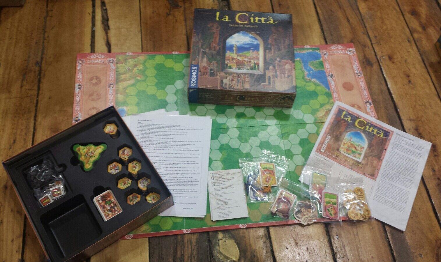 La Citta (Board Game, German Language Version) Kosmos strategy The City COMPLETE