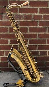 Buescher-1920-034-True-Tone-Low-Pitch-034-Vintage-Tenor-saxophone-Overhauled