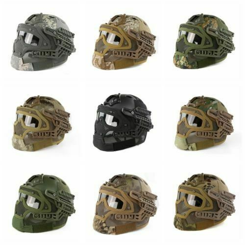 Army Tactical Fast COMBAT HELMET G4 sistema ABS CASCO FLAGS Airsoft Paintball