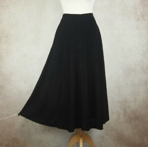 BNWT-Per-Una-Black-Eden-Skirt-Size-UK-12-L-33-034-M-amp-S-Marks-and-Spencer-rrp-39-50