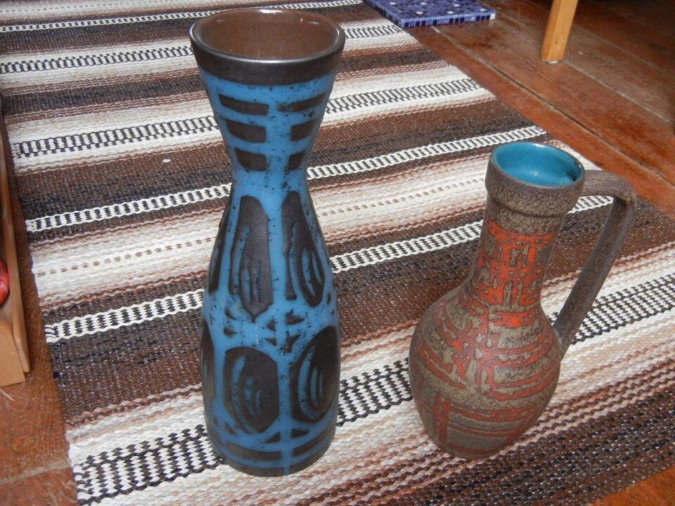 tysk keramik RETRO   tysk keramik / vaser m.m., Se – dba.dk – Køb og Salg af  tysk keramik