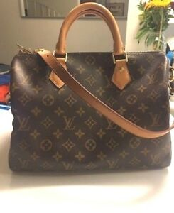 Details about LOUIS VUITTON MONOGRAM SPEEDY 30 BANDOULIERE FRANCE EXCELLENT CONDITION
