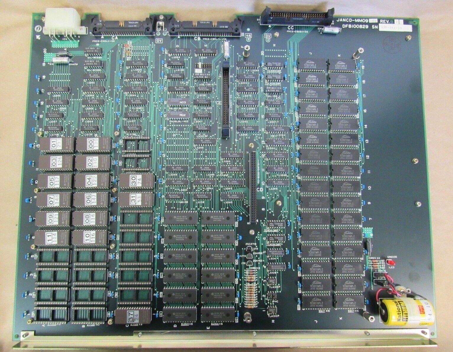 YASKAWA CIRCUIT BOARD JANCD-MM09-03 REV B1, DF8100829