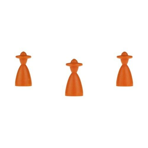 Halma Cone - Elegant with Hat - 0 1 2x1 1 32in - orange
