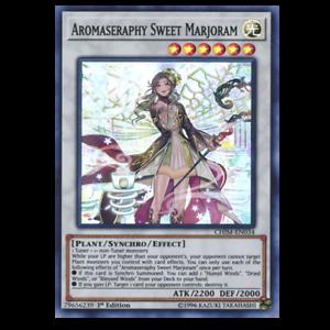 AROMASERAPHY SWEET MARJORAMCHIM-EN034 Super Rare Chaos Impact YuGiOh
