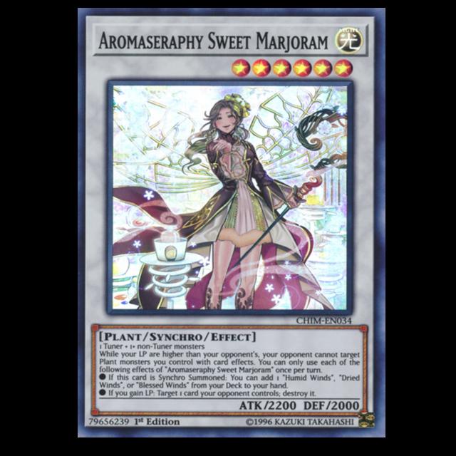 Aromaseraphy Sweet Marjoram *Super Rare* CHIM-EN034 NM