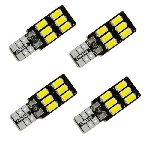 T10 501 w5w Car Lights 6 5630-SMD COB Bulbs LED ERROR FREE CANBUS Lamp Interior