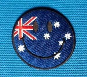 Australia Embroidered Sew or Iron on Patch Badge
