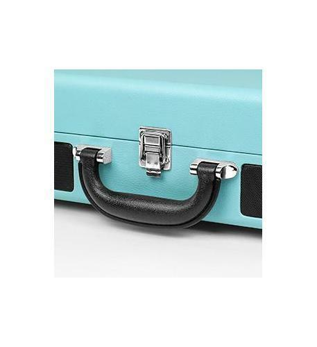 Victrola Bluetooth Suitcase Turntable Record Player Turquois 3 Speed Aux 550BT
