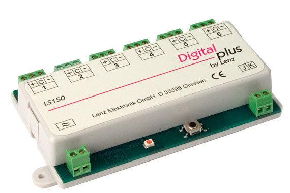 Lenz h0-N 11150 LS 150 decodificatore di commutazione 6 volte NUOVO OVP,