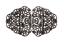 Schürzenschliesse Tracht Schnalle Metall Verschluss Dirndl 90x50mm 1 Stück