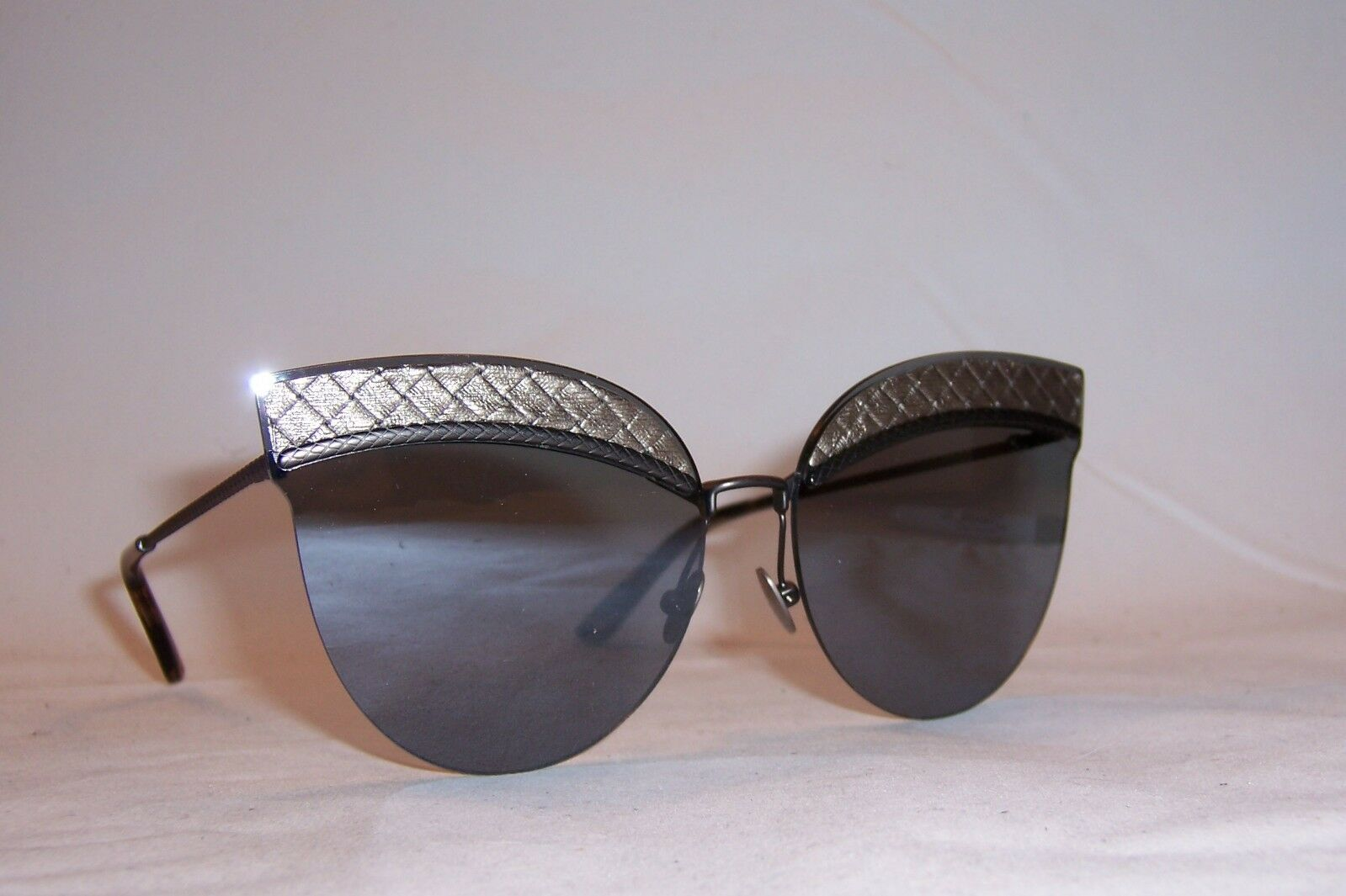 422c5a66cd462 BOTTEGA Veneta Sunglasses BV 0101s 002 Silver silver Mirror ...