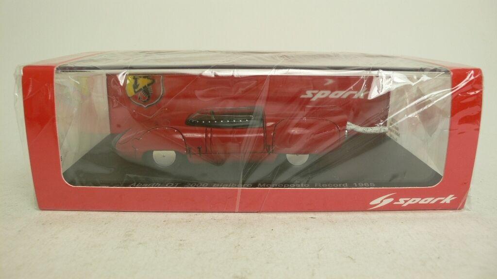 a buon mercato ABARTH OT 2000 BIALBERO MONOPOSTO RECORD 1965 SPARK S1330 S1330 S1330 PLASTIFICATED 1 43  presa di marca