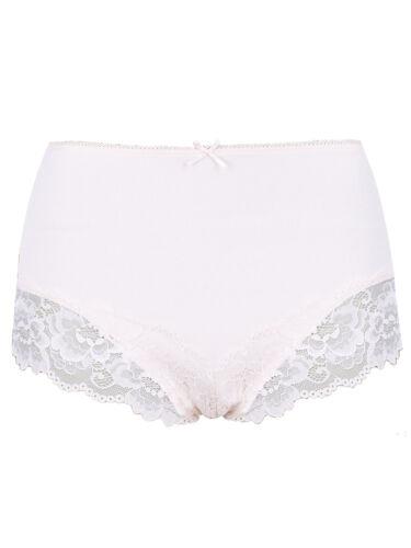 Fa M ou S High St Plain Lace /& Spotted Brazilian M S Knickers Pants Briefs