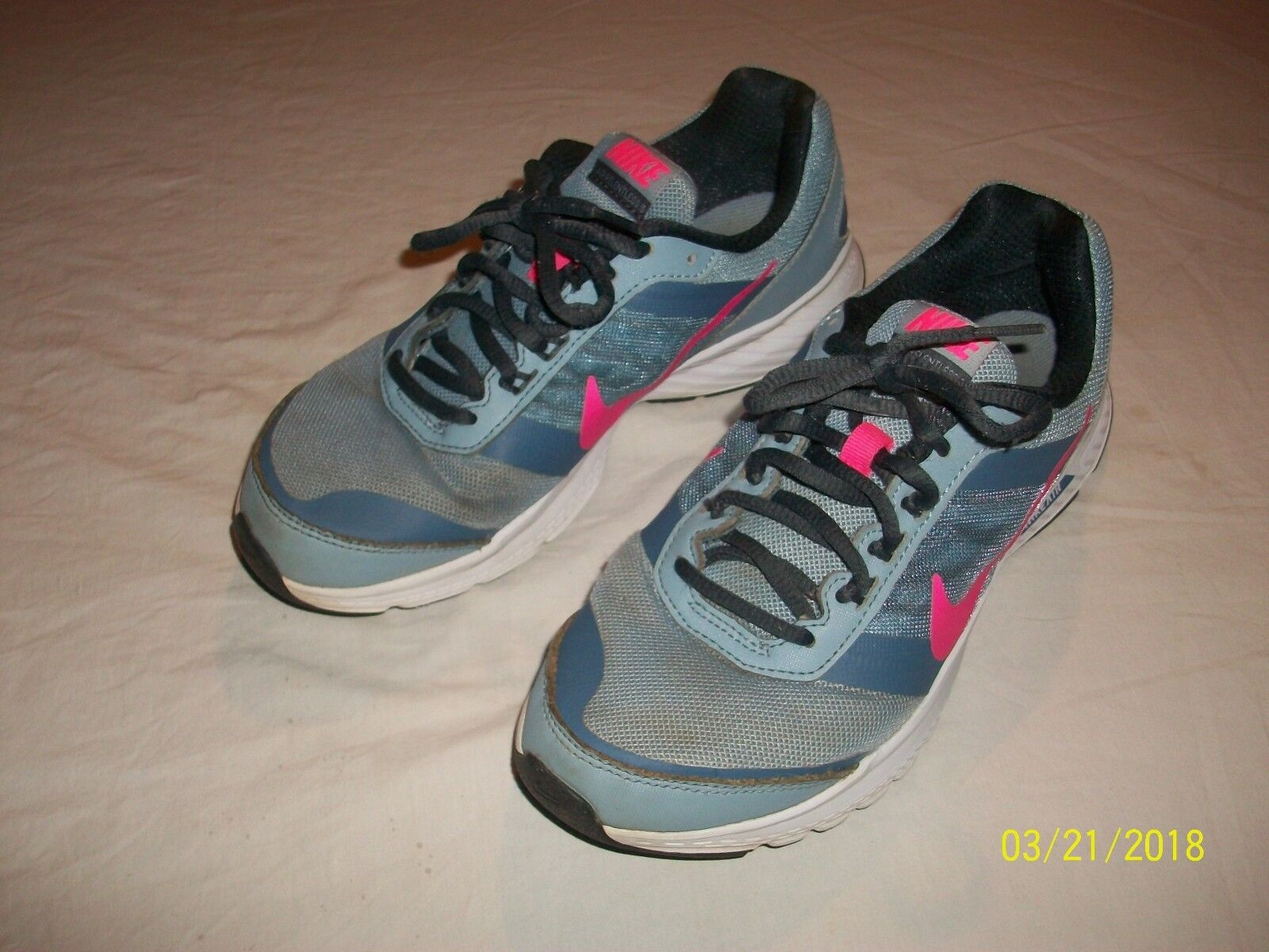 Nike Air Shoes Relentless 5 Women's Athletic Shoes Air 807098-401 Size 8.5 eebaa8