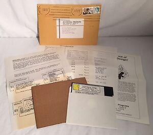 Vintage-Statistical-Design-EXPERtIMENTAL-Design-Engineering-Software-DOS-PC-80s