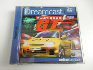 Sega GT für Sega Dreamcast - CIB - Komplett - Neu !