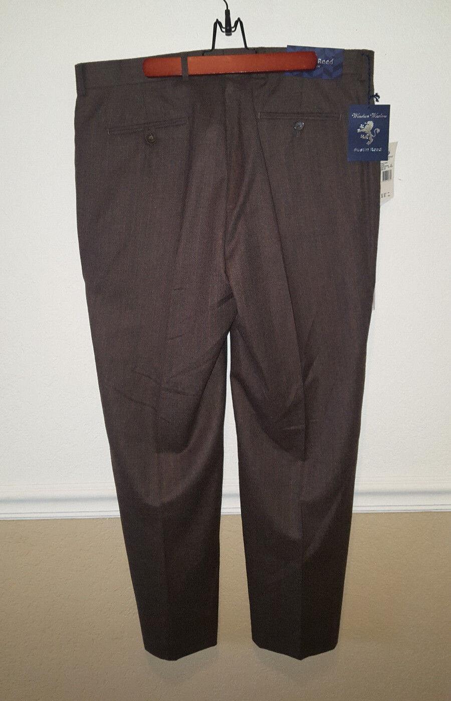 NWT  AUSTIN REED LONDON Dress Pants 100% Wool Size 38X30