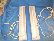 2 Trendway Officedeskcubicle Lights 2325 Long W Bulb Amp Cover 120v 9 Cord