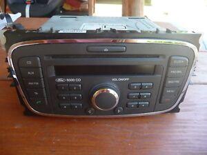 Autoradio-6000-CD-Ford-Focus-II-SINGLE-CD-KW2000-MIT-CODE-7M5T-18C815-BA