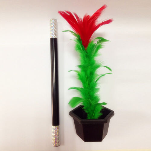 Comedy Magic Wand To Flower Magic Trick Kid Show Prop Toys Kid Gift  Tk