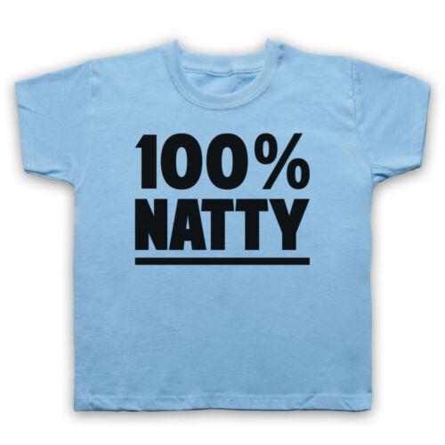 100/% NATTY GYM SLOGAN BODYBUILDING WORKOUT MUSCLES MENS WOMENS KIDS T-SHIRT